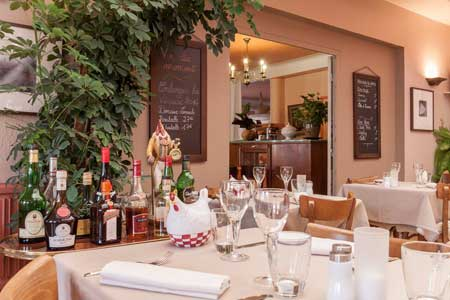 Le restaurant – Vue intérieure I
