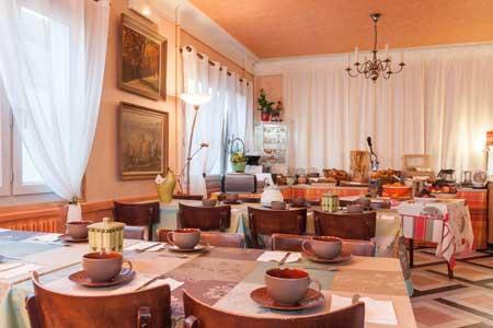 Salle des petits-déjeuners – Vue intérieure IV